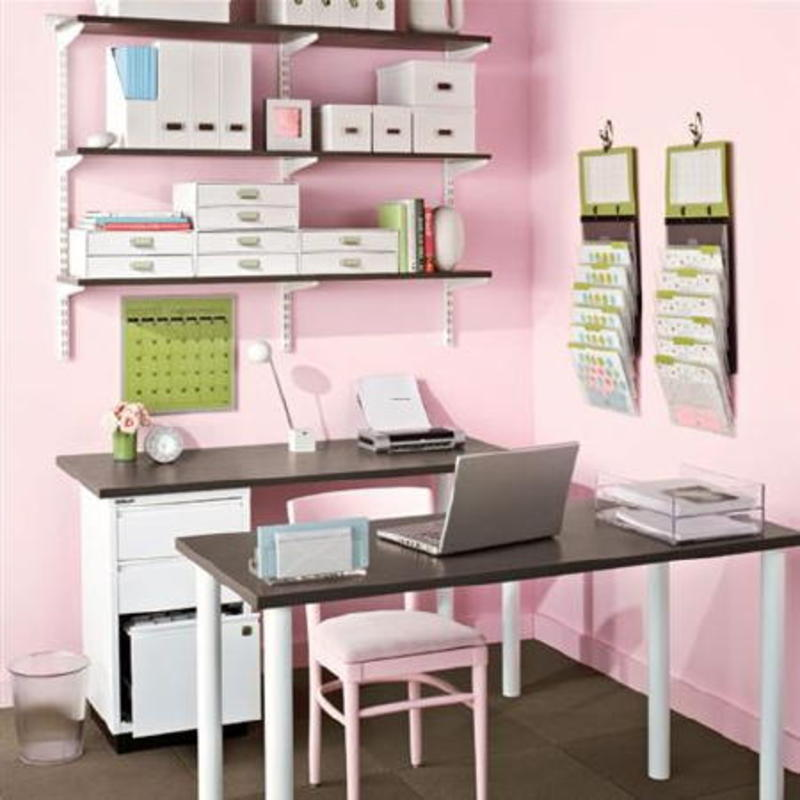 Modern home office design ideas design bookmark 9652 for Small office design ideas