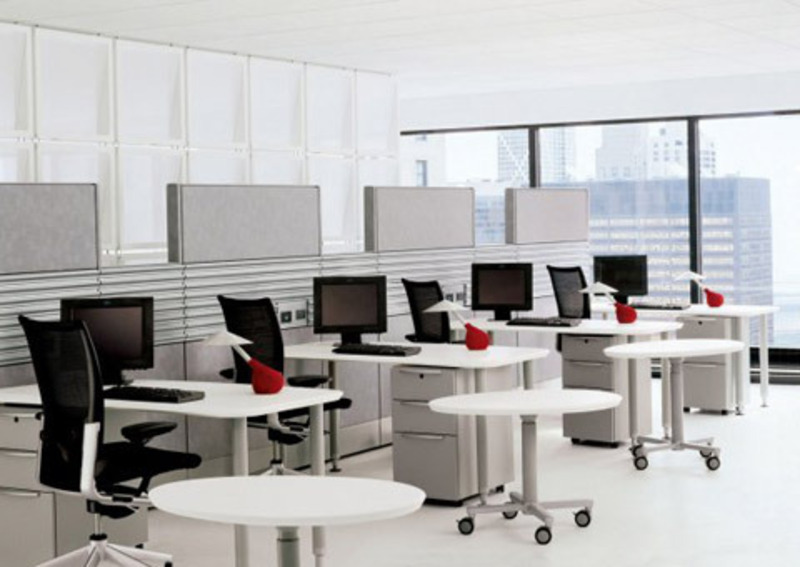 Modular Desk Office Furniture With Modern Table Design