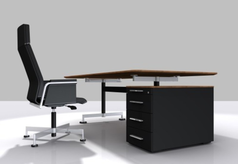 Modern executive office furniture in wooden unique for Modern office furniture design concepts