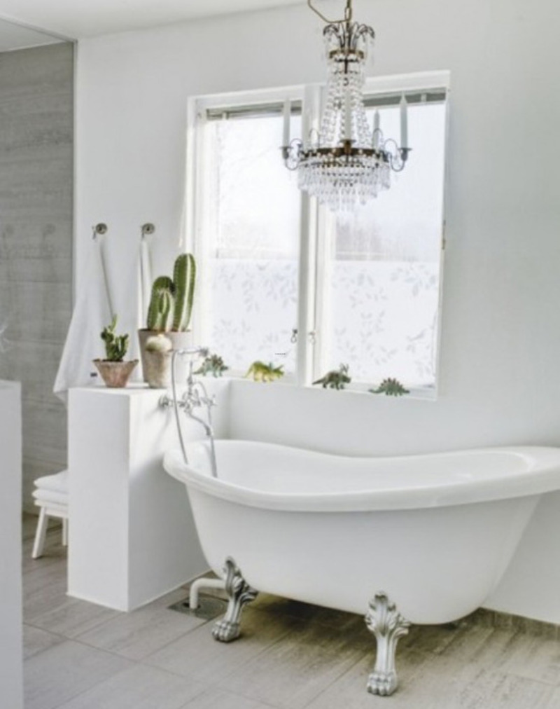 Classical Scandinavian Bathroom Design In The House Of 1937 ...
