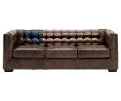 Flag Leather Sofa