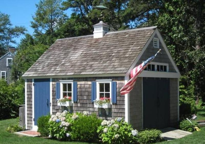 Cape cod sheds garden sheds storage sheds design for Cape cod cottage style house plans