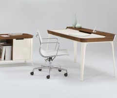 Elegant Work Desk For Modern House Office