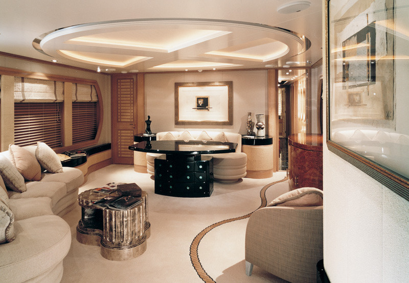 Boat Interior Design, Luxury Boats
