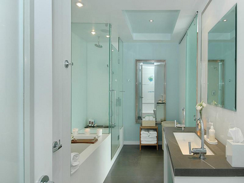 Use These Bathroom Decorating Ideas For Your Home: Modern Condo Decor Pictures Bathroom Vanities / Design