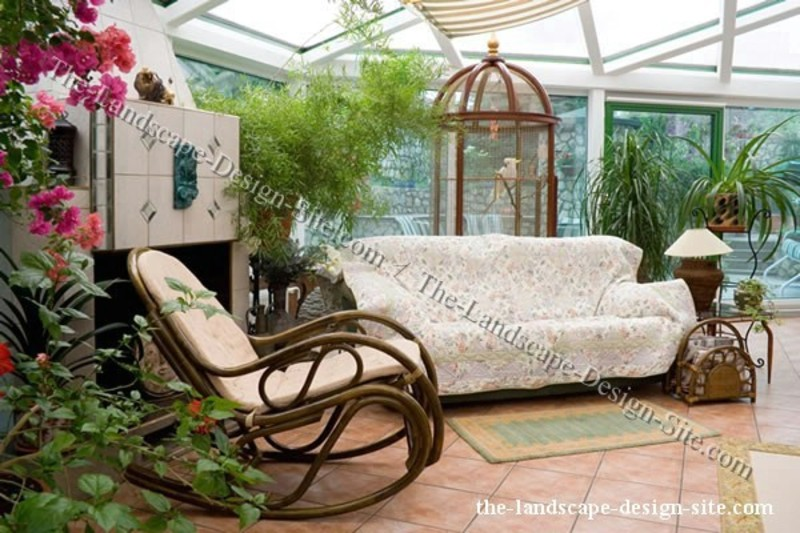 Enclosed patio ideas design bookmark 10037 for Indoor patio decorating ideas