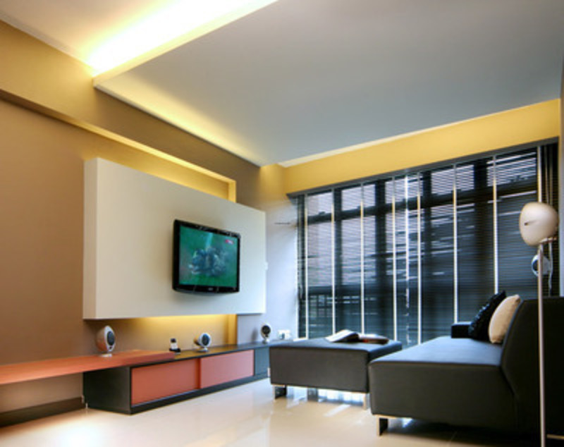 Plaster ceiling design for condominium for Condo ceiling design