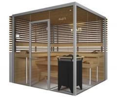 Glass Sauna Room Design Vitrium By Klafs 1
