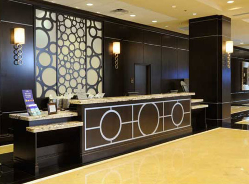 Modern Lobby Hotel Interior Design Design Bookmark 9975