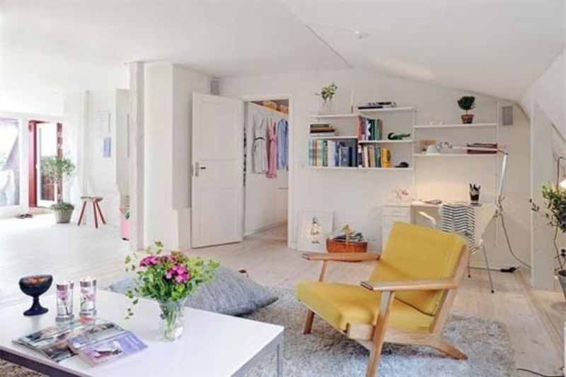 Beautiful Small Apartment Decorating Ideas In Sweden & Beautiful Small Apartment Decorating Ideas In Sweden / design ...