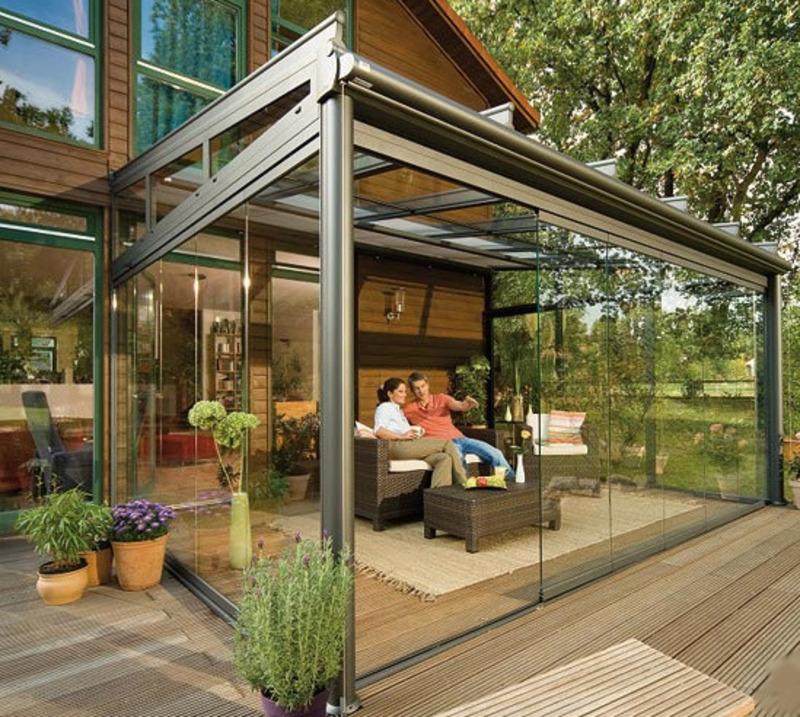 Elegant Outdoor Glass Patio Rooms Design Ideas By Weinor / design ...