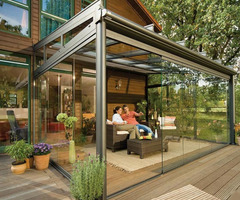 Elegant Outdoor Glass Patio Rooms Design Ideas By Weinor
