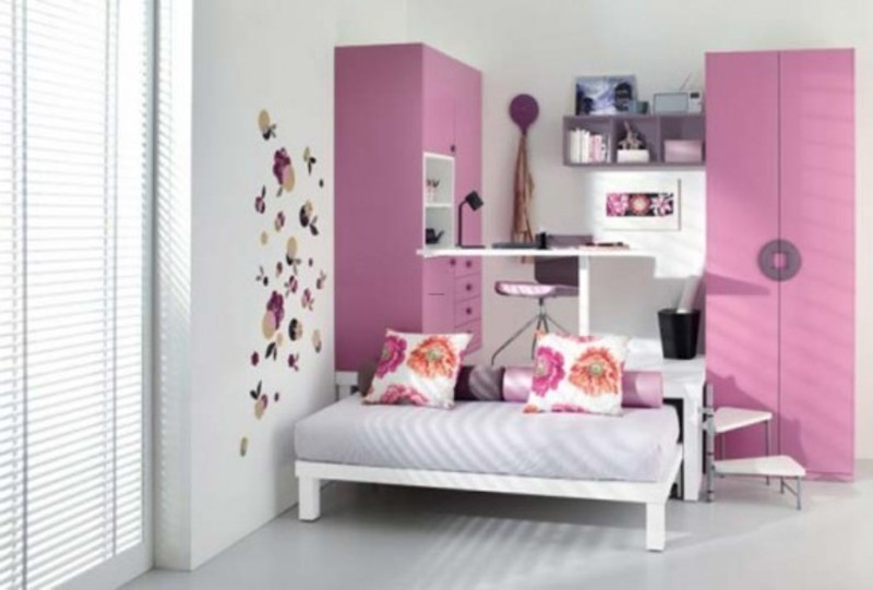 Teenage bedroom ideas by italian company tumidei design for Cute teen bedroom designs