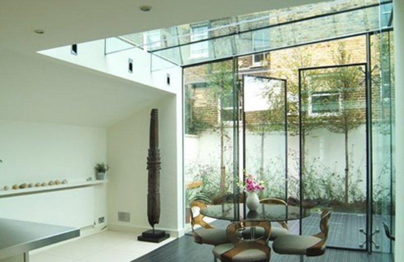 glass wall designs interior images