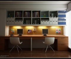 Executive Home Computer Office Furniture Design Remodeling Ideas