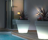 Indoor Garden Lighting Pots White Design By Vondom