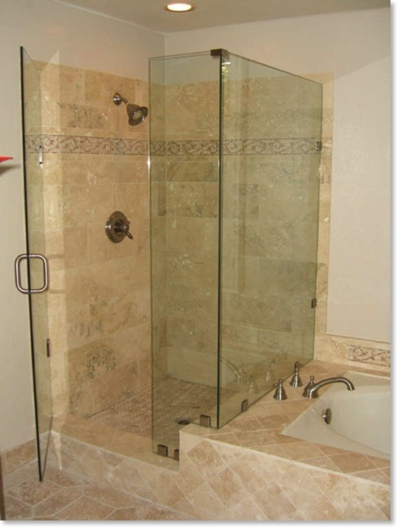 Shower remodels pictures design bookmark 10207 for Bathroom tub and shower designs