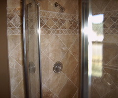 Designer Tile Showers Bathrooms