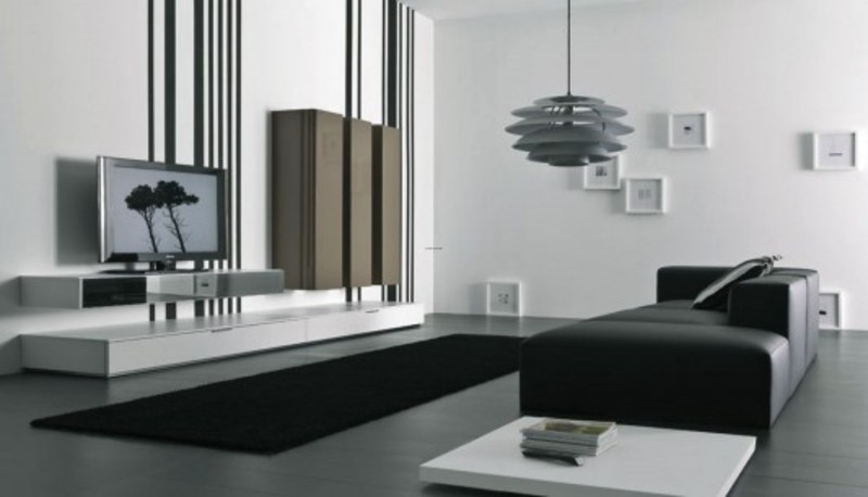 Modern Living Room Tv Wall Mount Cabinet Design Spazio