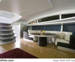 Luxurious Interior Yacht Design With Modern Sofa By Fun Home Design Ideas