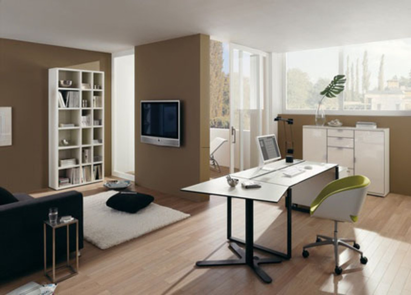 Home Office Design Ideas, Simple And Ergonomic Home Office Design Ideas