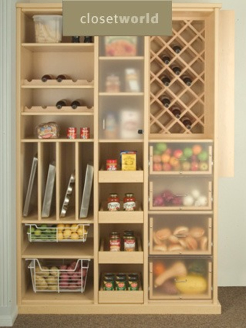 Storage Closet: Storage Closet Pantry