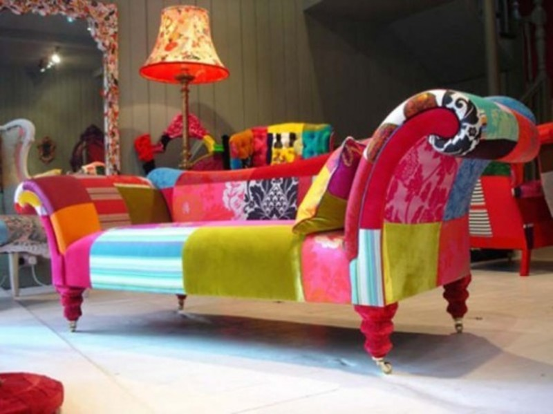 Chaise Lounge Chairs Indoors Modern Furniture Colorful