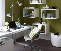 A Beautiful Desk Table For Modern Home Office Design Ideas