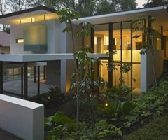 Houses Bungalow With Beautiful Modern Contemporary  Architecture