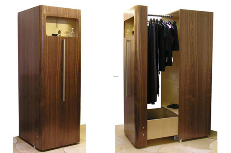 Space saving wardrobe for small bedroom by n j dean home for Bedroom cupboard designs small space