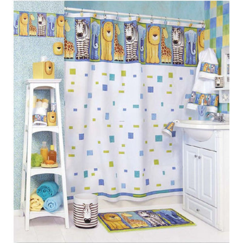 More on kids shower curtains design bookmark 10480 - Cortinas para bebes decoracion ...