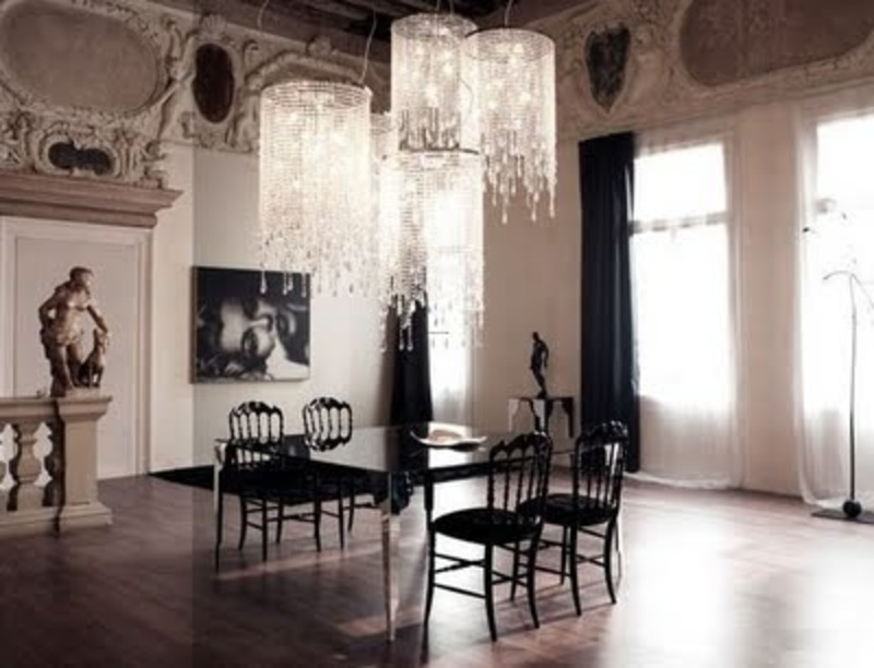 Luxury dining room decoration ideas design bookmark 10537 - Contemporary dining room chandeliers styles ...