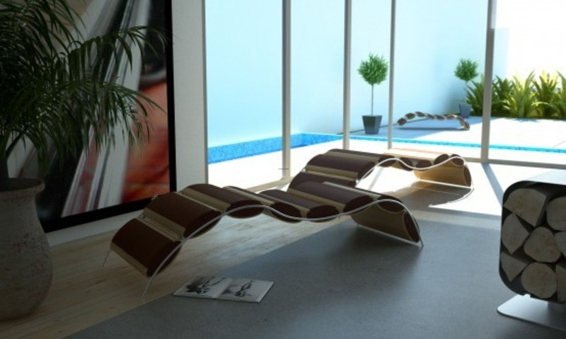 Outdoor Patio Lounge Furniture, Beautiful Relaxing Outdoor Garden And Patio Lounge Stylish