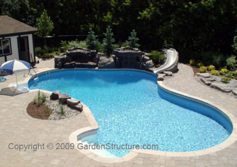 Landscape design with pools in hamilton dundas and for Pool design hamilton nj