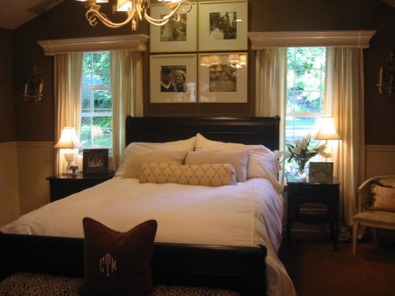 Master bedroom ideas designs decorating pictures design for Black and white romantic bedroom ideas