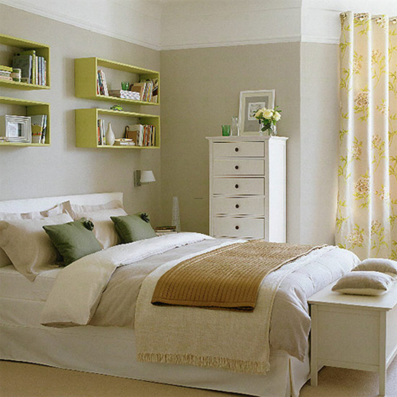 Bedroom Country Style, This bedroom from House to Home is done in four ...