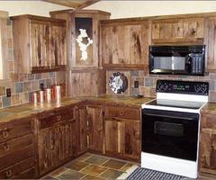 Rustic Country Kitchen Cabinets
