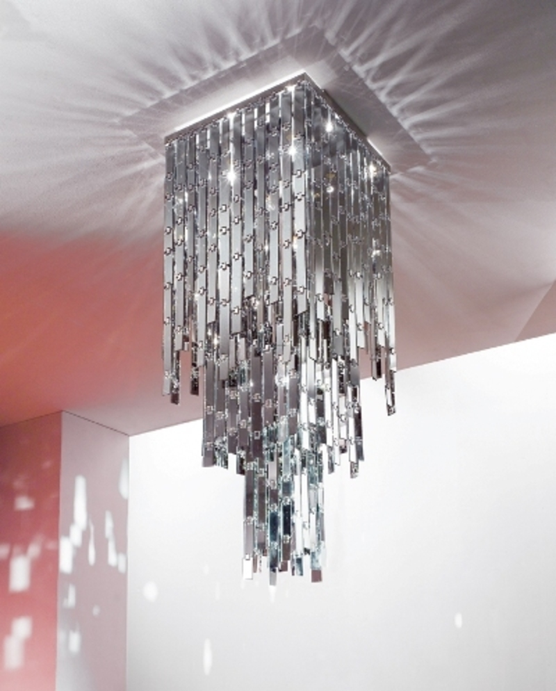 modern chandelier from axolight glitter chandelier glamour design bookmark 10814. Black Bedroom Furniture Sets. Home Design Ideas