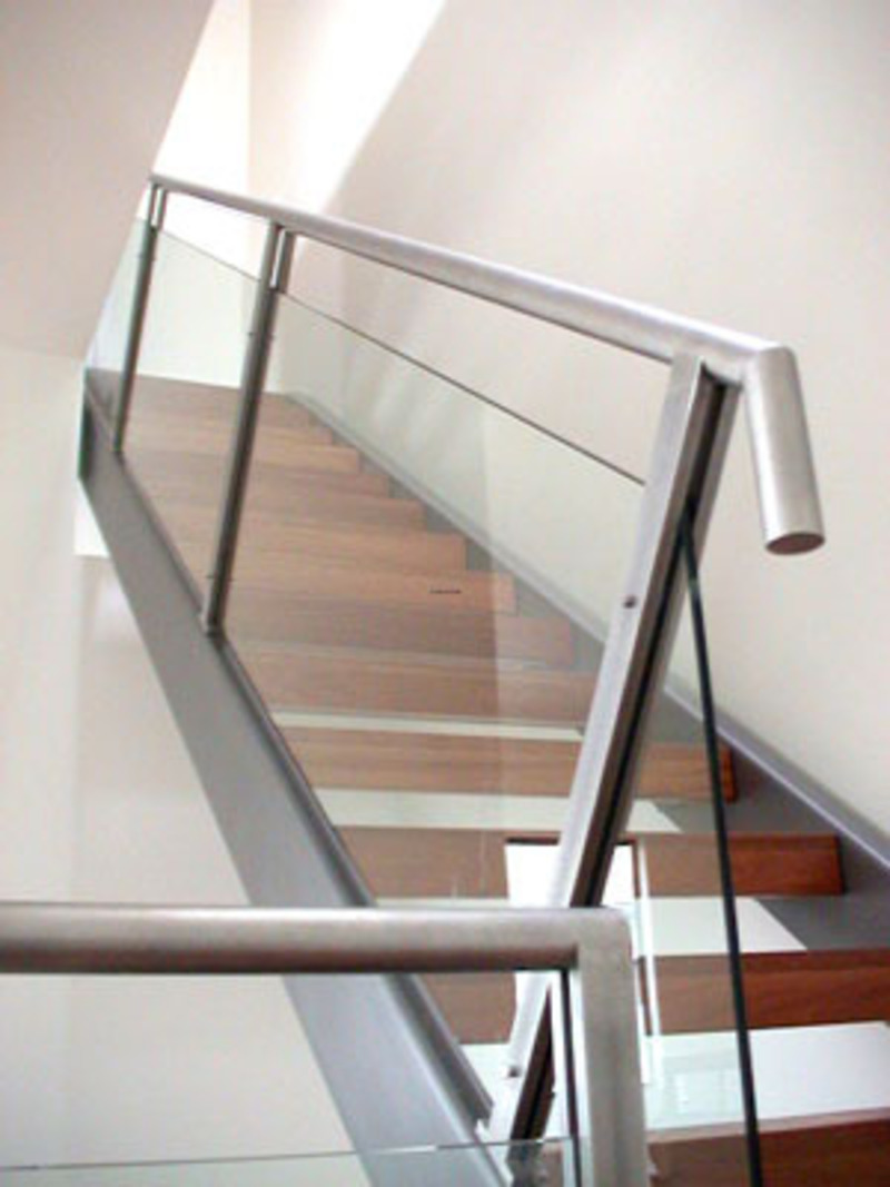 Contemporary Stair Railing, Modern Stair Railings