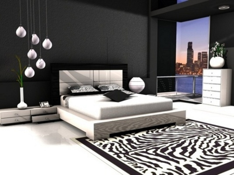 More Beautiful With Black And White Bedroom Design