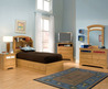 The Furniture / Kids Bedroom Set With Captains Bed And Bookcase Headboard, University Collection By Standard Furniture, Free Shipping