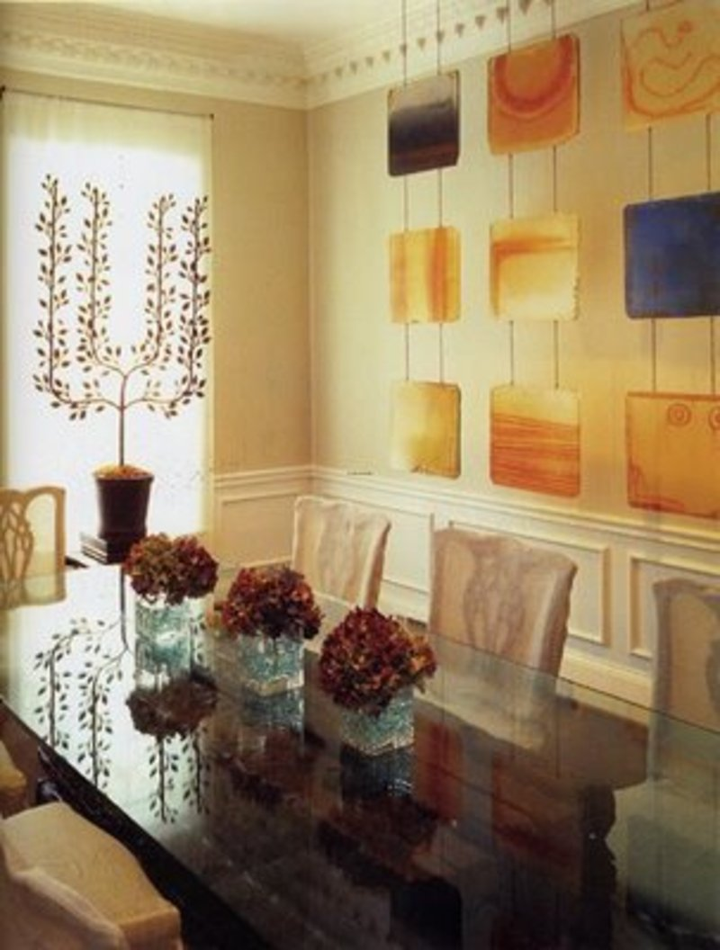 Home wall decor for dining room ideas wall decor for for Office dining room ideas