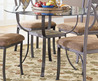 Meadow Round Dining Table With Glass Top
