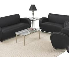 2 Ultra Modern Contemporary Reception / Waiting Room Furniture For Home And Office
