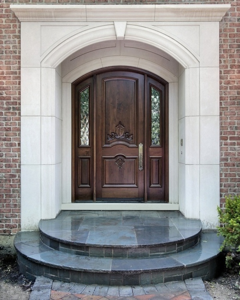 Photos galleries for home interior designs main door for Exterior entryway designs