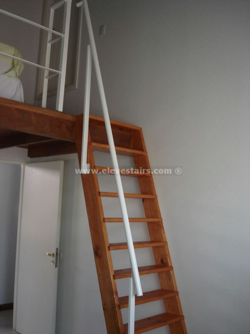 Space saving stairs vertical stairs eleve metallic - Space saving stair design ...