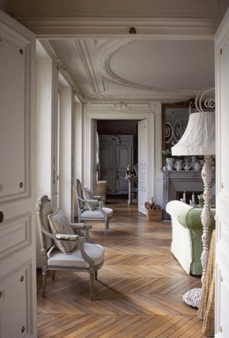 Beautiful and classy apartment interior in paris at home Beautiful apartment interiors