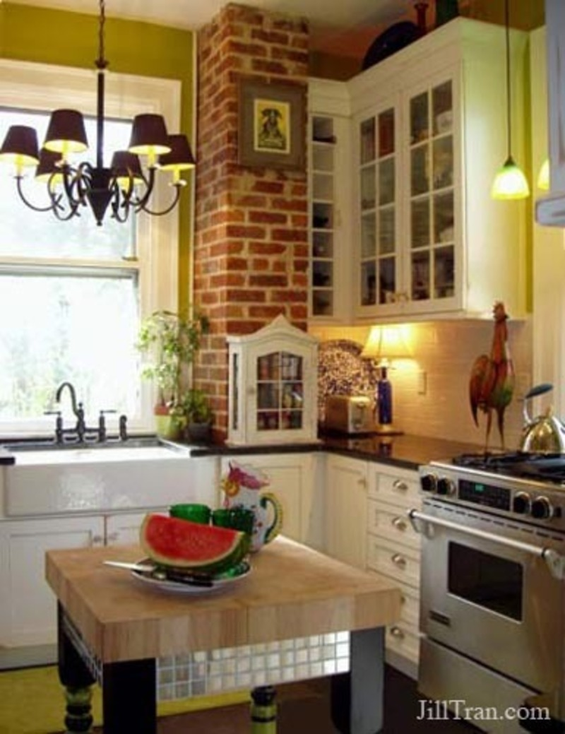 Farmhouse Kitchen Pictures Design Bookmark 11086