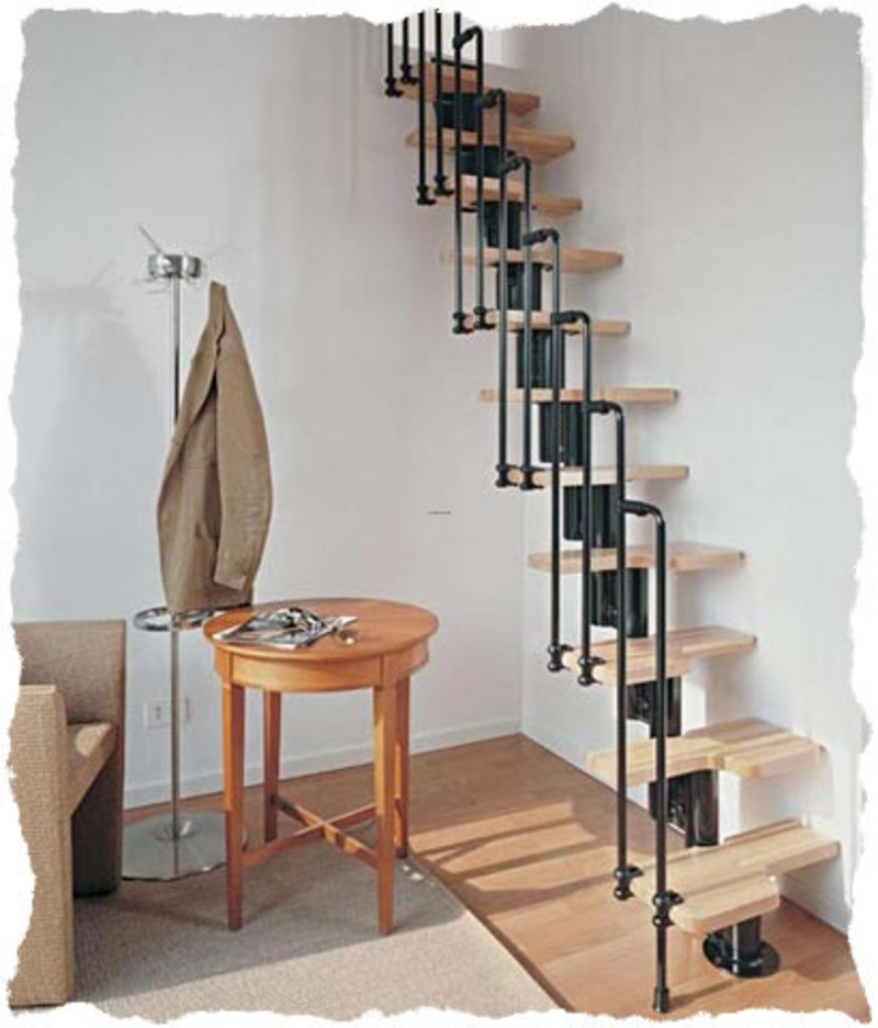 Space Saving Staircase Designs: Spacesaving Staircase Kit / Design Bookmark #11111