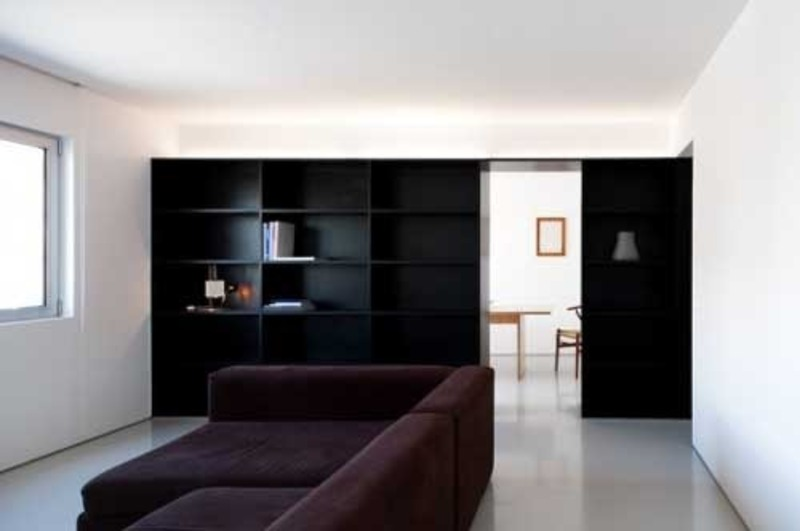 Modern minimalist apartment designed by hugo proenca by for Modern minimalist apartment